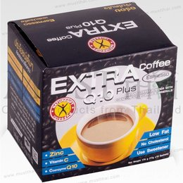 Nature Gift EXTRA Q10 plus coffee Espresso 170gr (10 Sachets)