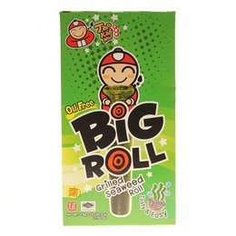 Big Roll grilled seaweed roll Clasic Flavour tasty 12 pcs