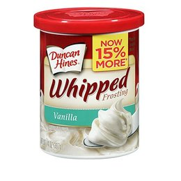 Duncan Hines Whipped Frosting Vanilla 397g