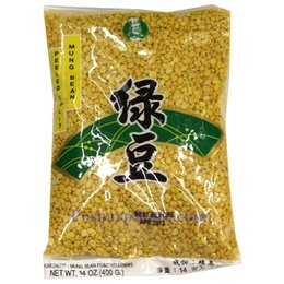 Golden chef mung bean, peeled split 400 gram