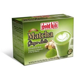 Gold Kili Matcha ginger latte 10 pcs