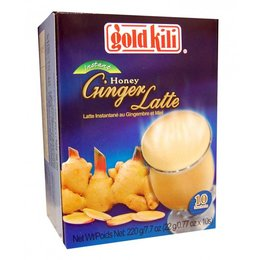 Honey Ginger latte 10 pcs 220 gram - Gold Kili