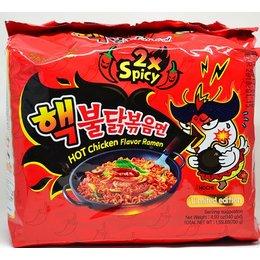 Samyang 2x Spicy HOT Chicken Flavor Ramen 5-pack