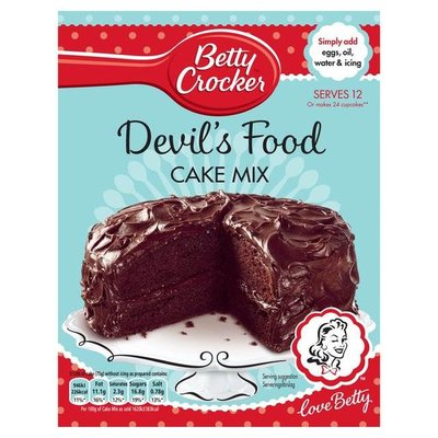 Betty Crocker Devils Food cake mix 425 gram