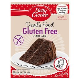 Betty Crocker Gluten Free Devil Food Cake 425G