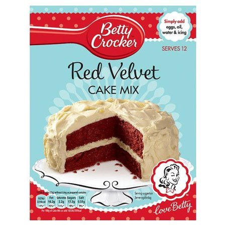 Betty Crocker Betty Crocker Red Velvet Cake Mix, 450g
