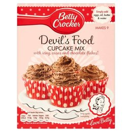 Betty Crocker Devil's food cup cake mix