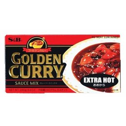 S&B Golden Curry Extra Hot