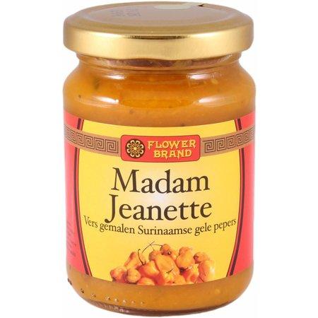 Madam Jeanette sambal  geel  200g flowerbrand