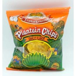 Plantain Chips Garlic/Knoflook smaak