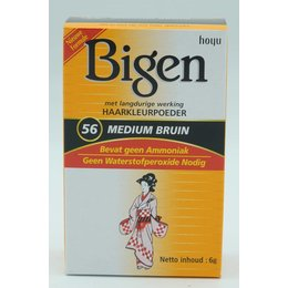 Bigen Haarverf 56 Medium Bruin