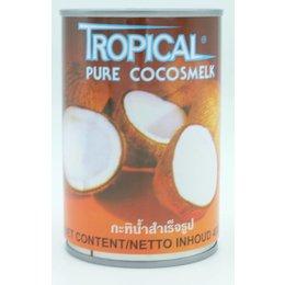 Tropical Pure coconut milk 400ml