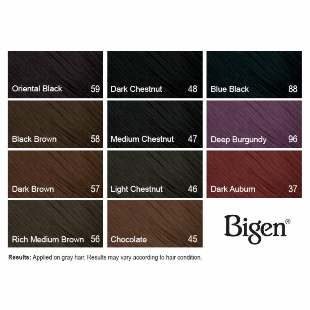Tokogembira Bigen Hair Dye 48 Dark Chestnut Tokogembira