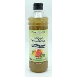 Lekker Bekkie Hot & Sweet caribbean pepper sauce