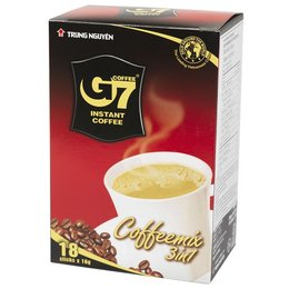G7 Instant Coffee 3 in 1 Trung Nguyen 18 sachets