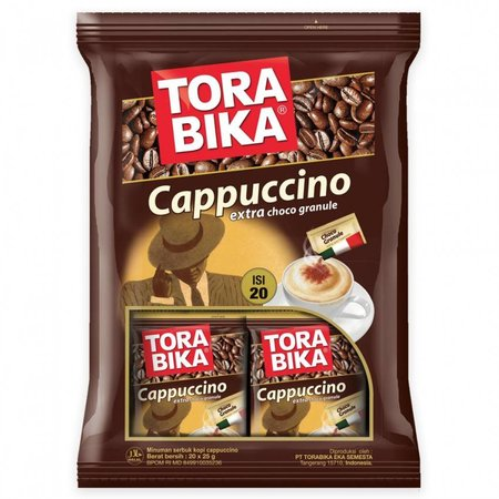 Tora Bika Cappuccino 20 Sachets