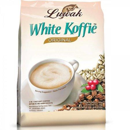 White Coffee Luwak Original 20 Sachets 400gr