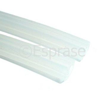 Siliconenslang (5 x 10 mm, per meter)