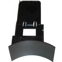 Residubakhouder met voorpaneel C, E & F-serie (zwart)