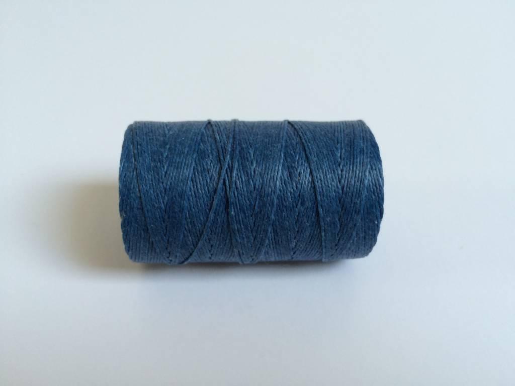 gewachstes Leinengarn 3 ply, Irish Waxed Linen, Farbe 06 royal blue