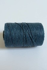gewachstes Leinengarn 4 ply, Farbe 05 williamsburg blue