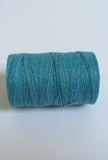 gewachstes Leinengarn 3 ply, Irish Waxed Linen, Farbe 09 turquoise