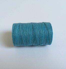 gewachstes Leinengarn 3 ply, Farbe 09 turquoise