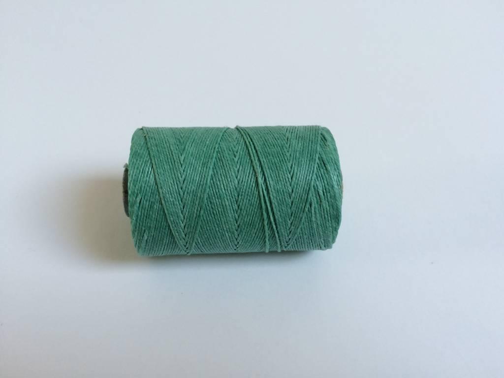 gewachstes Leinengarn 3 ply, Irish Waxed Linen, Farbe 10 sage