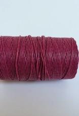 gewachstes Leinengarn 3 ply, Irish Waxed Linen, Farbe 21 magenta