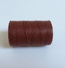 gewachstes Leinengarn 3 ply, Farbe 23 maroon