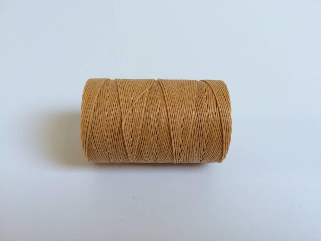 gewachstes Leinengarn 3 ply, Irish Waxed Linen, Farbe 31 butterscotch