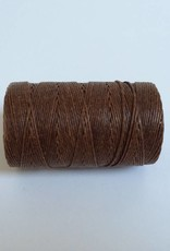 gewachstes Leinengarn 3 ply, Irish Waxed Linen, Farbe 32 walnut brown