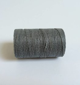 gewachstes Leinengarn 3 ply, Farbe 34 slate grey