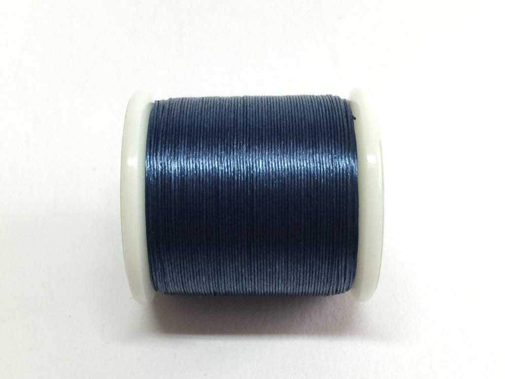 Perlenfaden KO / Miyuki, Farbe dunkelblau
