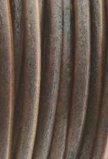 Lederkordel rund Ø 1,5 mm, natural antique brown