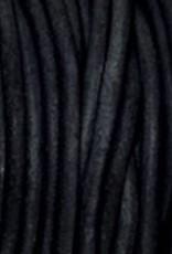 Lederkordel rund Ø 1 mm, natural pacific