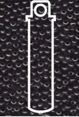 Metallperlen 11/0 - Heavy Metal Seed Beads - Gunmetal