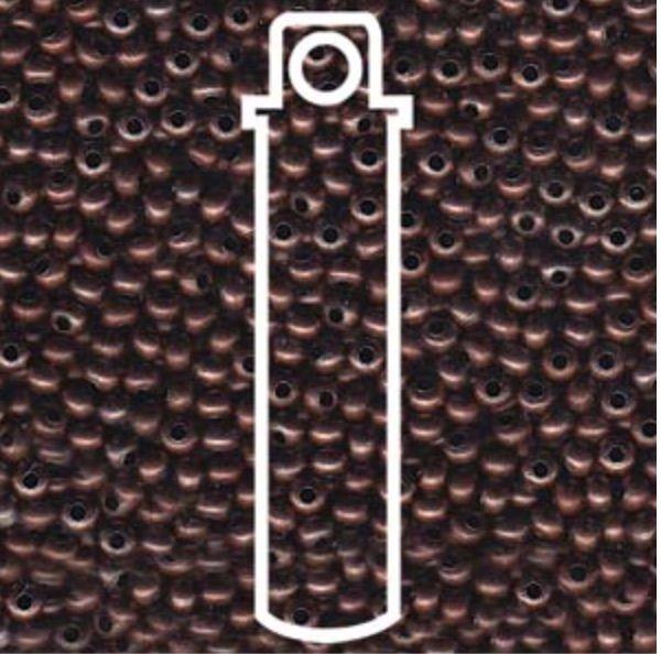 Metallperlen 11/0 - Heavy Metal Seed Beads - antique copper
