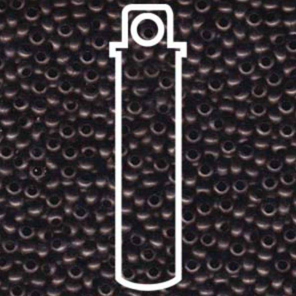 Metallperlen 11/0 - Heavy Metal Seed Beads - dark copper