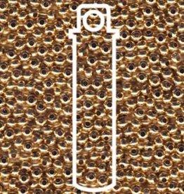 Metallperlen 11/0 - Heavy Metal Seed Beads - 24 Kt gold plate