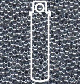 Metallperlen 8/0 - Heavy Metal Seed Beads - zinc