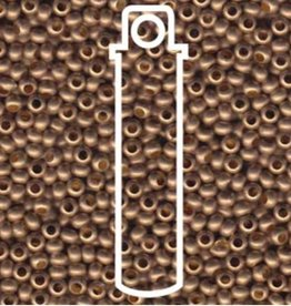 Metallperlen 8/0 - Heavy Metal Seed Beads - gilding matte