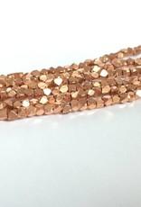 Metallwürfel - Cornerless Cubes 2,5 mm, copper plated brass