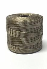 BeadSmith Super-Lon Nylongarn Standard TEX 210, Farbe 10 sand