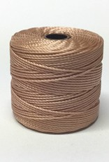 BeadSmith Super-Lon Nylongarn Standard TEX 210, Farbe 18 light copper