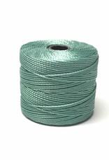BeadSmith Super-Lon Nylongarn Standard TEX 210, Farbe 35 turquoise
