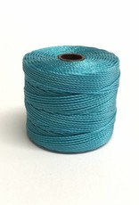 BeadSmith Super-Lon Nylongarn Standard TEX 210, Farbe 39 nile blue