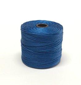 BeadSmith Super-Lon Nylongarn Standard TEX 210, Farbe 43 capri blue
