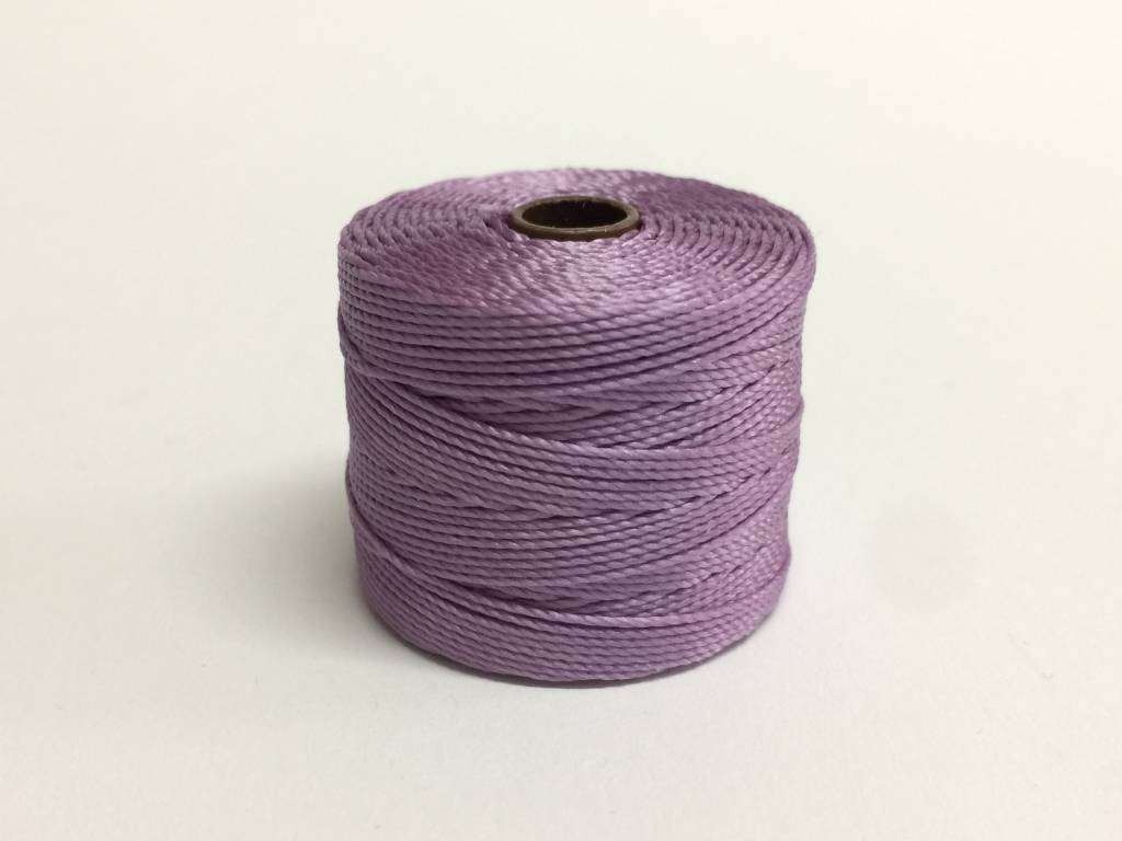 BeadSmith Super-Lon Nylongarn Standard TEX 210, Farbe 52 orchid