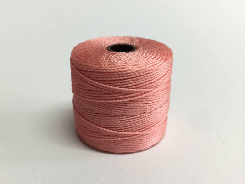 super lon nylongarn tex 210 farbe coral pink bei bead more bead more patricia suter. Black Bedroom Furniture Sets. Home Design Ideas